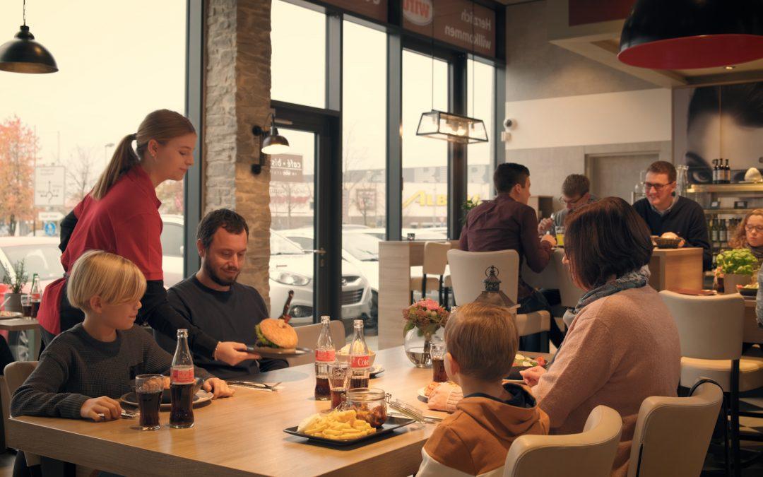 Neuer Spot für das Café Bistro im wiro Center