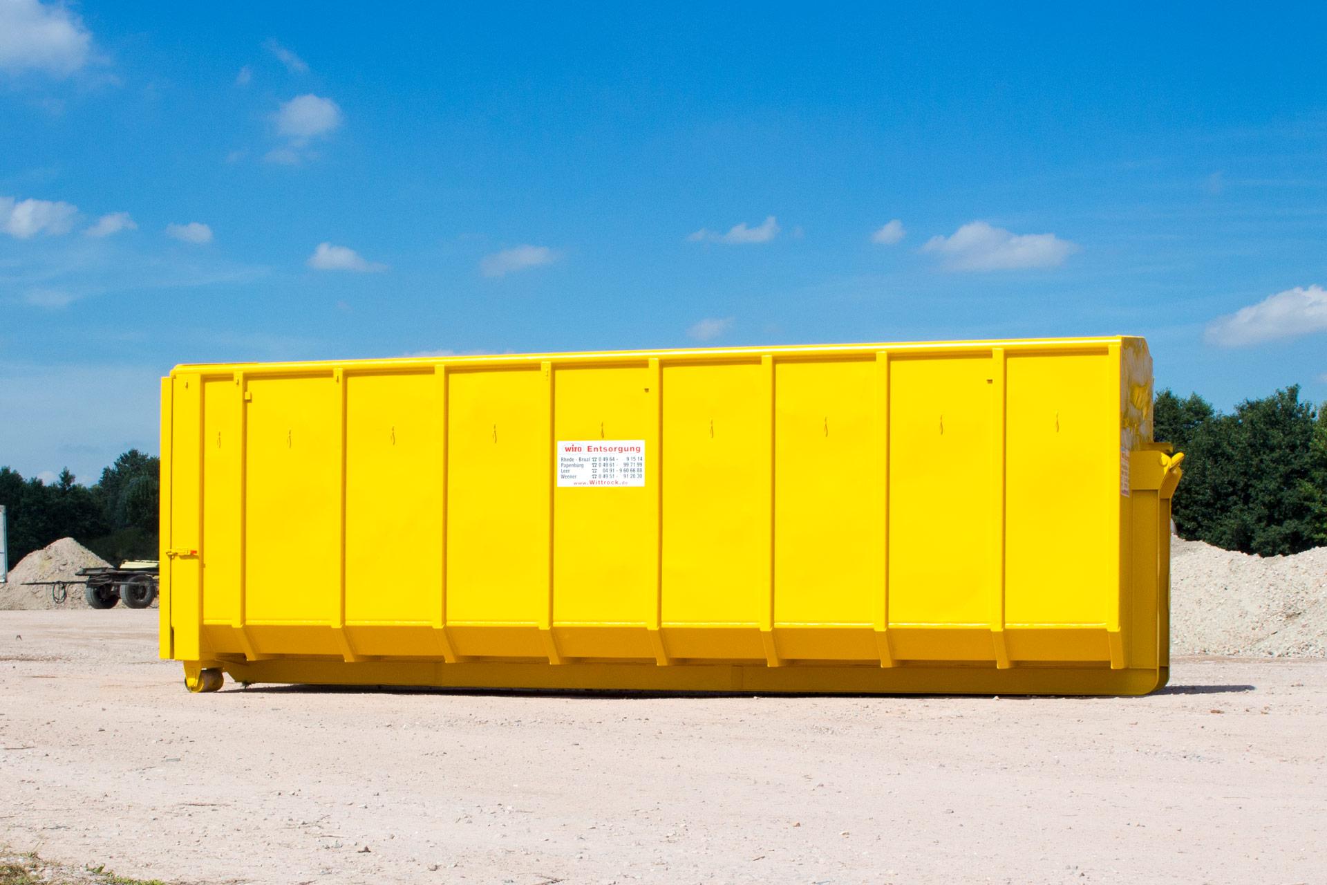 Container 40cbm