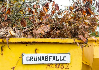 gruenabfaelle