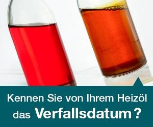Haltbarkeit von Heizöl